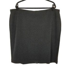 LOFT Textured Stretch Knit Pencil Skirt